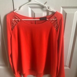 Brand new orange top Size M